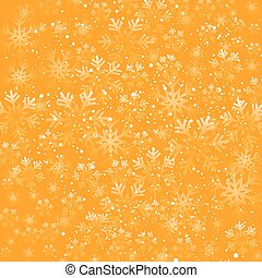 Christmas snowflakes background - Vector illustration....