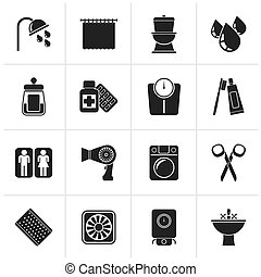 S2_000_664eps - Black Bathroom and Personal Care icons-...