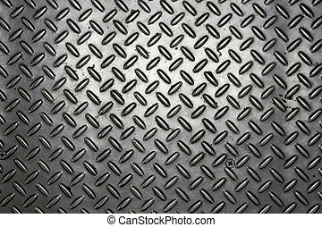Close shot of metal background