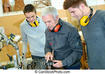 Woodwork apprenticeship