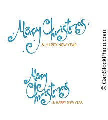 Christmass Sign Letters Set Vector - Christmass Sign Letters...