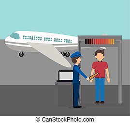 airport industry design - airport industry design, vector...