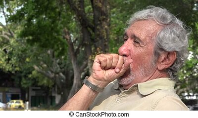 Old Man Coughing