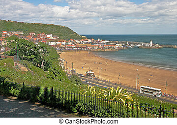 English seaside Resort - The seaside resort of Scarborough...