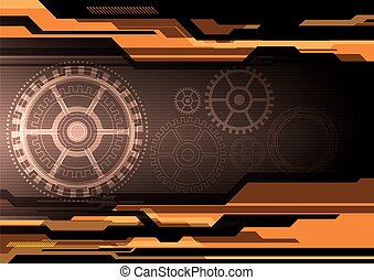vector electronic background