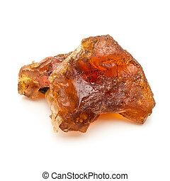 Organic Indian bdellium. - Macro closeup of a Organic Indian...