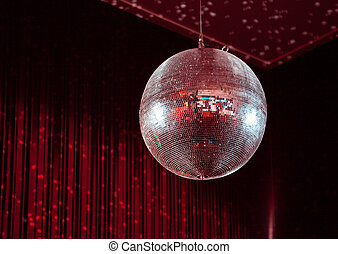 Party lights disco ball dance