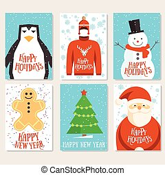 Happy holidays cards template - Holidays template cards....