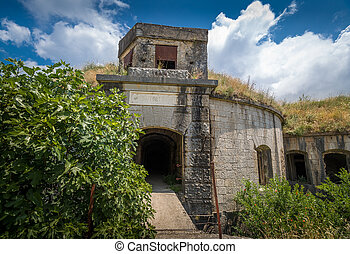 Thurmfort Gorazda fortress main gate - Main gate of...
