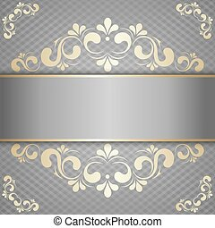 luxury background for design with gold pattern
