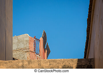 Demolished building in old Marrakech - When in Marrakesh new...