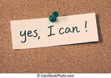 yes I can