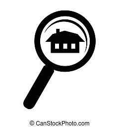 Search home simple icon