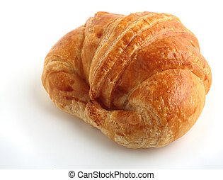 Croissant - An isolated croissant