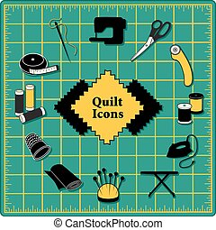 Quilting Icons, Green Cutting Mat