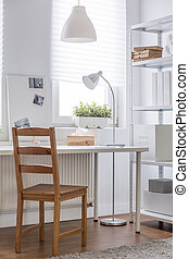 Study room with solid chair - Photo of study room with solid...