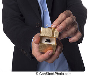 Black Ring In Box