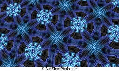 Neon Ice Pattern