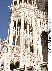 Particular of Duomo of Milan