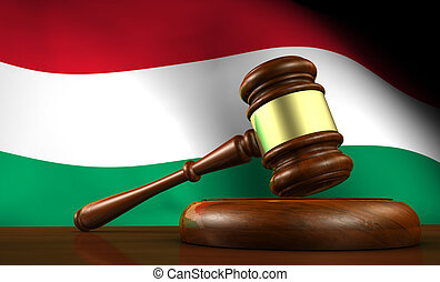 Hungary Law Legal System Concept - Hungary law, legal system...