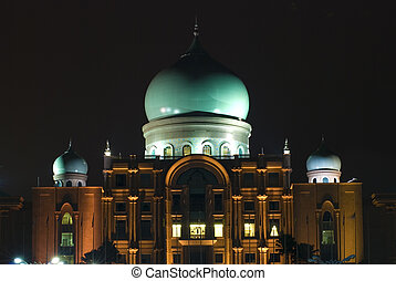 putrajaya mosque landmark in malaysia