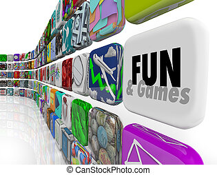 Fun and Games App Application Store Market Download Software