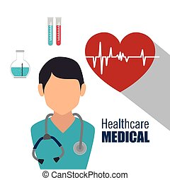 Medical heatlhcare design - Medical healthcare graphic...
