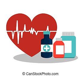 Medical heatlhcare design - Medical healthcare graphic...