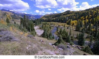 Uncompahgre National Forest raw 1080 footage wide angle