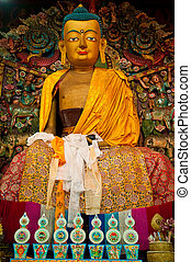 Buddha statue in Ghoom monastery