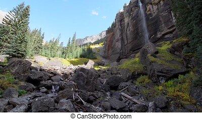 Bridal Veil Falls Telluride Colorado USA - Bridal Veil Falls...