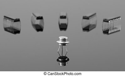 Transistor and chips - Concept of the transistor and chips