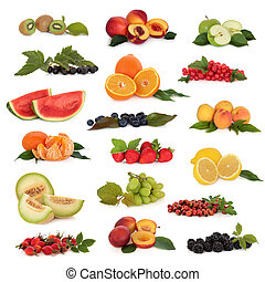 Fruit Collection - Large fruit collection high in...