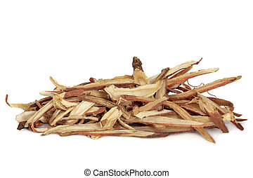 Liquorice Root - Liquorice root, used in chinese herbal...