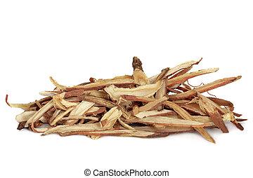 Liquorice Root - Liquorice root, used in chinese herbal...
