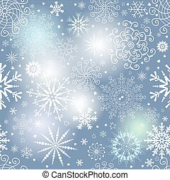 Seamless gentle colorful christmas pattern