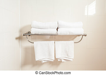 The towel holder