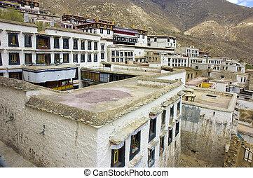tibetan monastry building