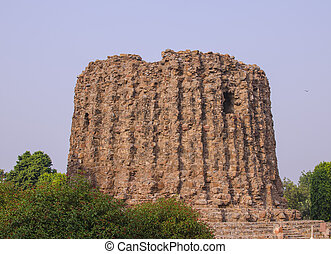 architecture minaret unfinished tower Alay-Minar sight