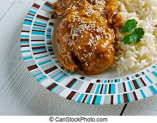 Pepian Sauce for Stewed Chicken - Guatemalan Pepian Sauce...