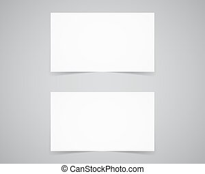 Corporate identity, business card template. Branding letterhead. Business identity kit. Paper edition. Place your design, text easily. Change color etc. Vector illustration