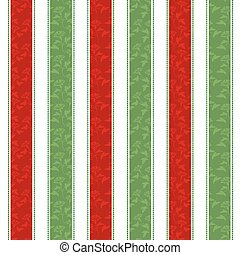 Christmas Line Pattern Background