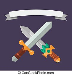 Knifes weapon vector collection - Knifes weapon collection...
