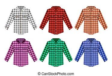 Lumberjack check shirt lumberjack old fashion patterns -...