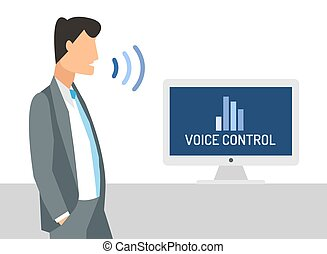 Voice control Clipart and Stock Illustrations. 1,032 Voice control ...