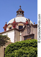 Templo de Santa Clara - Queretaro, Mexico - Dome of the...