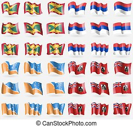 Grenada, Republika Srpska, Tierra del Fuego Province,...