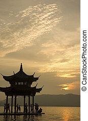xihu in hangzhou ,china
