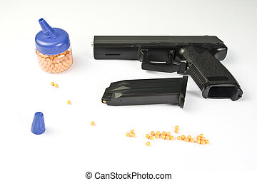 Air gun set Gun and pellets