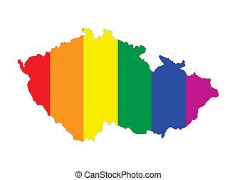 czech republic gay map